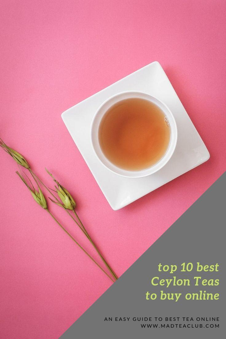 Ceylon Tea Pinterest Design