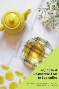 Chamomile tea pinterest design