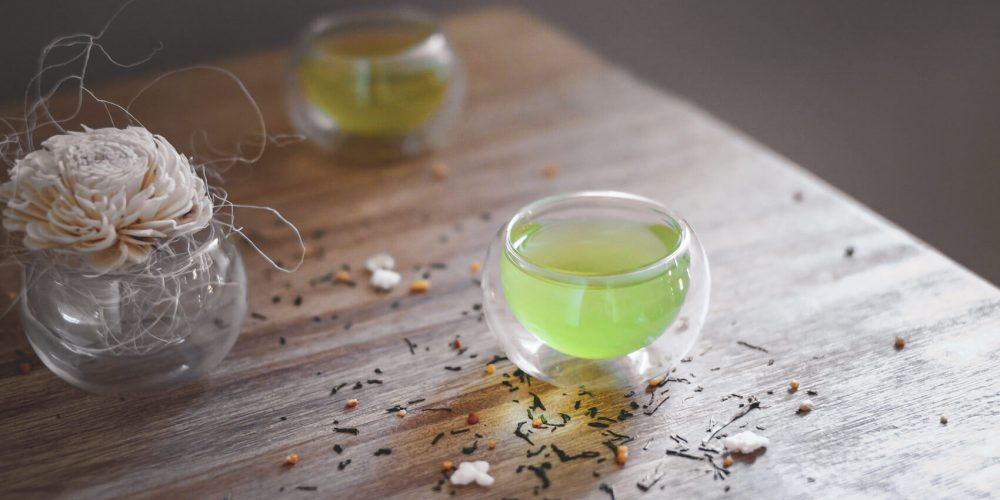 Genmaicha Tea for a Savory cup with a Touch of Popcorn