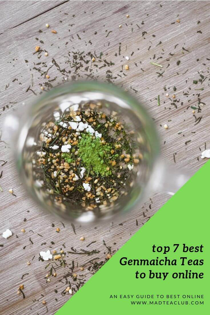 Genmaicha Tea, pinterest design