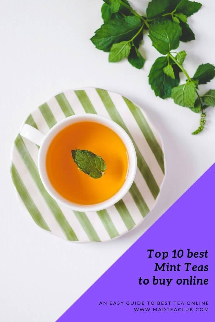 Herbal mint teas, Pinterest design