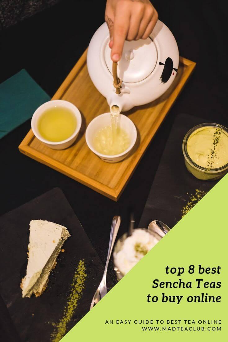 Sencha tea pinterest design