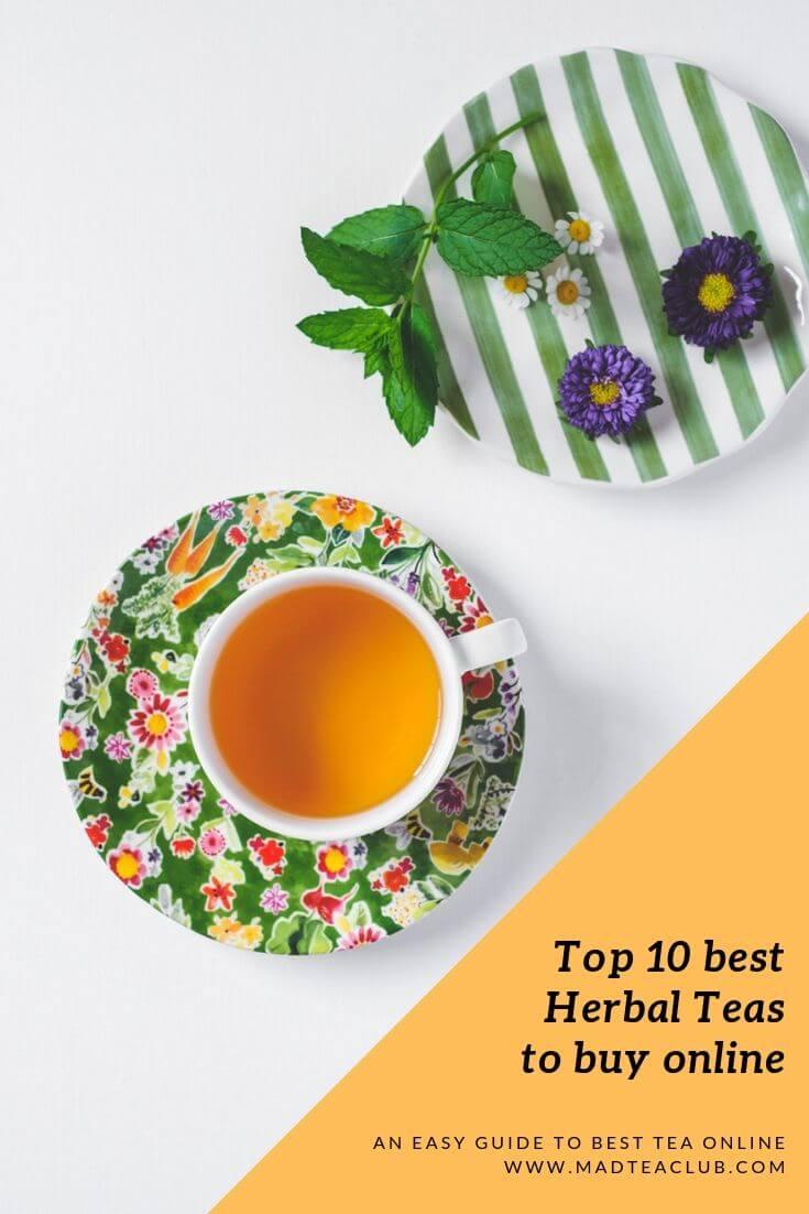 Herbal Teas Pinterest Design