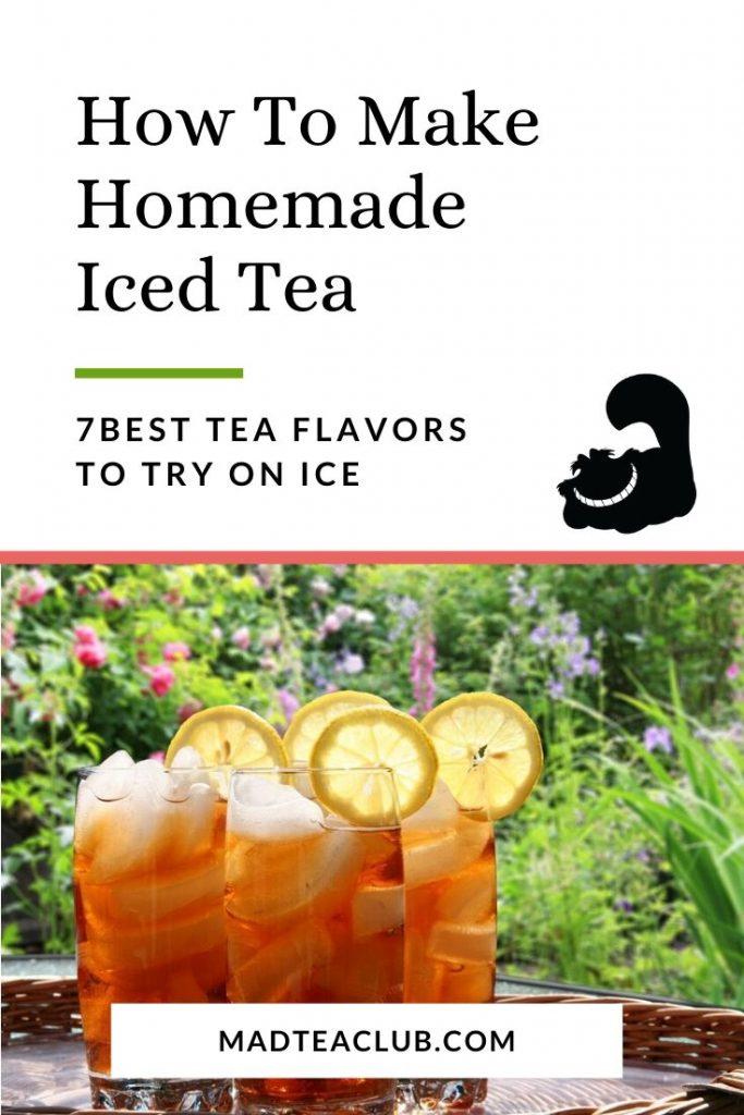 Iced Tea Pinterest Design