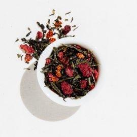 2 QT Iced Tea Pouches - Green Pomegranate Tea