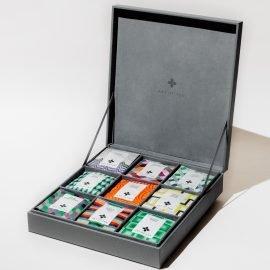 Assorted Teabag Sachet 9-Section Gift Box