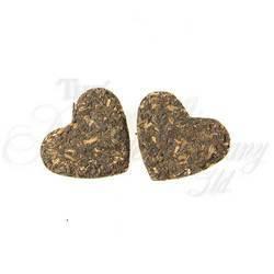 Black Tea Pressed Hearts