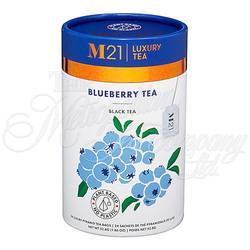 Blueberry Decorative Pyramid Tea Bag Canister