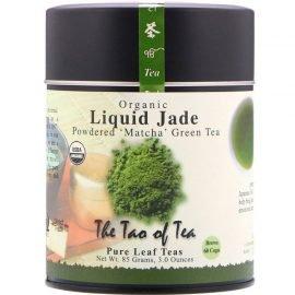 Organic Powdered Matcha Green Tea, Liquid Jade