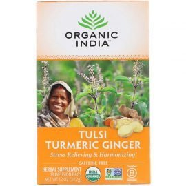 Tulsi Tea, Turmeric Ginger