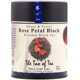 Sweet & Floral Blended Black Tea, Rose Petal Black