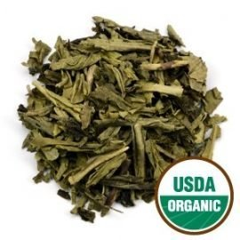 Sencha Leaf Tea Decaffeinated Organic
