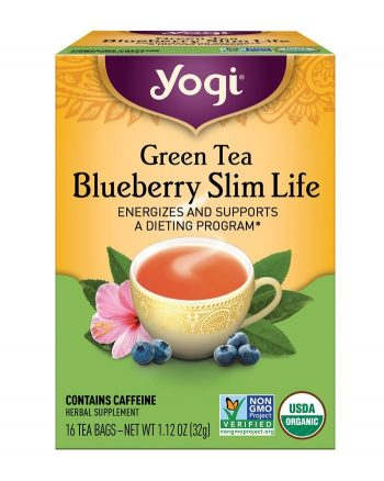 Yogi Green Tea Blueberry Slim Life