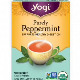 Yogi Purely Peppermint Tea
