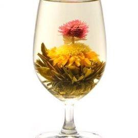 Christmas Tree Flower Tea