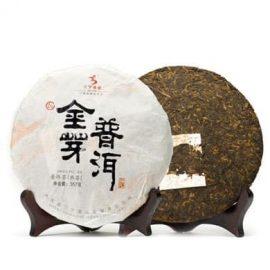 Fengqing Golden Buds Ripened Pu-erh Cake Tea 2013