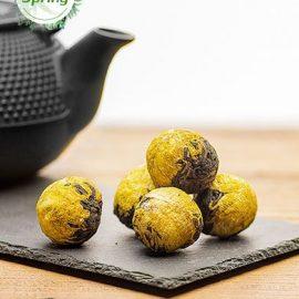 Golden Emperor Chrysanthemum Dragon Ball Black Tea