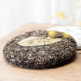 Jingmai Zui Qian Qiu Ancient Tree Raw Pu-erh Cake Tea 2017