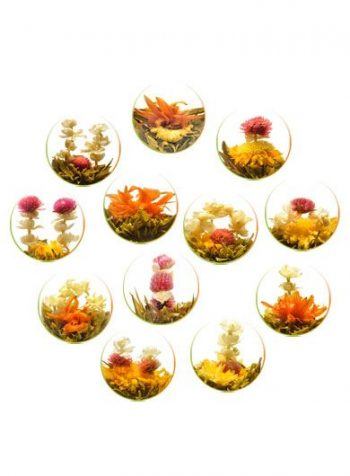 Mixed Flower Teas (Twelve Pieces)