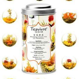 Mixed Flower Teas (Twelve Pieces) - Tin