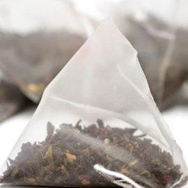 Rose Ripened Loose Pu-erh Pyramid Tea Bag