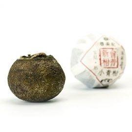 Xinhui Green Mandarin Orange Ripened Pu-erh Tea