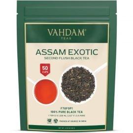 Assam Exotic Second Flush Black Tea Leaves