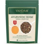 Ayurvedic Rose Herbal Green Tea