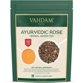 Ayurvedic Rose Herbal Green Tea
