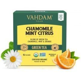 Chamomile Mint Citrus Green Tea