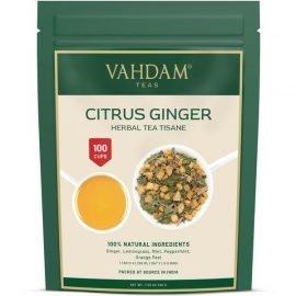 Citrus Ginger Herbal Tea Tisane