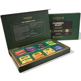 Founder's Select Assorted Tea Bag Gift Set 8 Flavours, 40 Tea Bags
