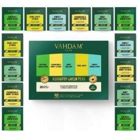 Green Tea Sampler Assortment Box