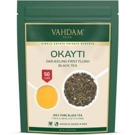 Okayti Premium Darjeeling First Flush Black Tea