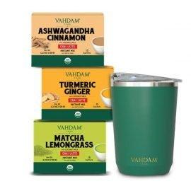 Organic Chai Latte Premix Kit