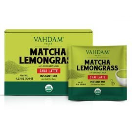 Organic Matcha Lemongrass Chai Latte Premix