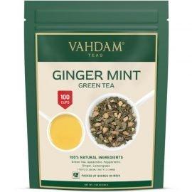 Sparkling Ginger Mint Green Tea