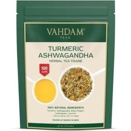 Turmeric Ashwagandha Herbal Tea Tisane
