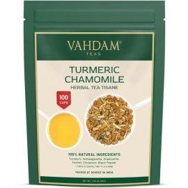 Turmeric Chamomile Herbal Tea Tisane
