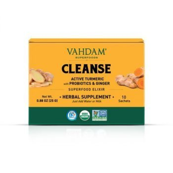 Turmeric Cleanse Instant Mix Superfood Elixir