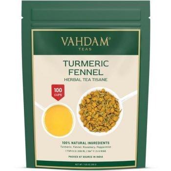 Turmeric Fennel Herbal Loose Leaf Tea Tisane