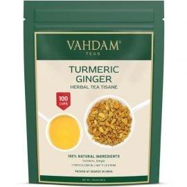 Turmeric Ginger Herbal Tea Tisane
