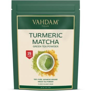 Turmeric Matcha Superfood Green Tea Powder