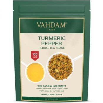 Turmeric Pepper Herbal Tea Tisane