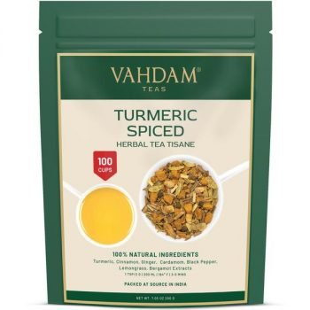 Turmeric Spiced Herbal Tea Tisane