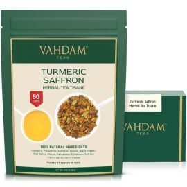 Turmeric Saffron Herbal Tea Tisane Loose Leaf